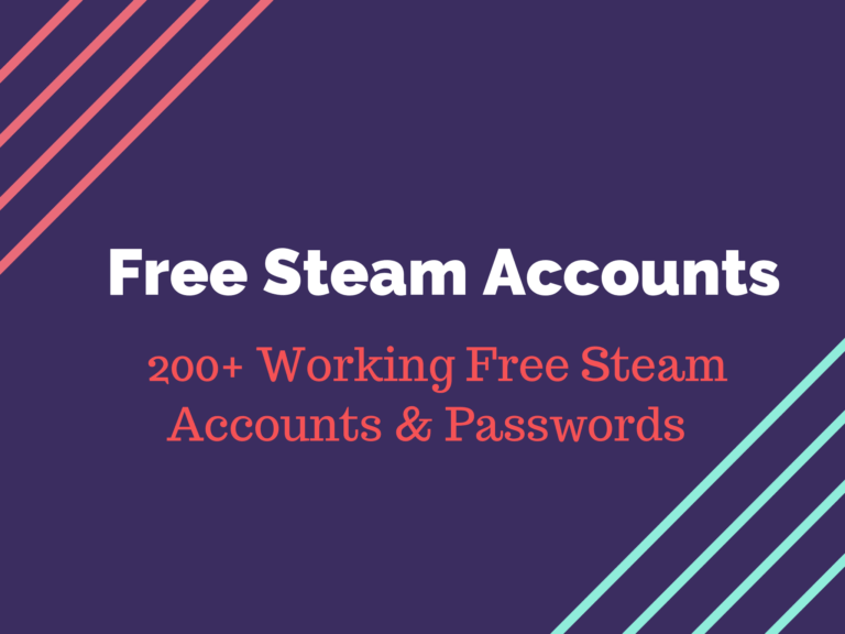 Free Steam Accounts