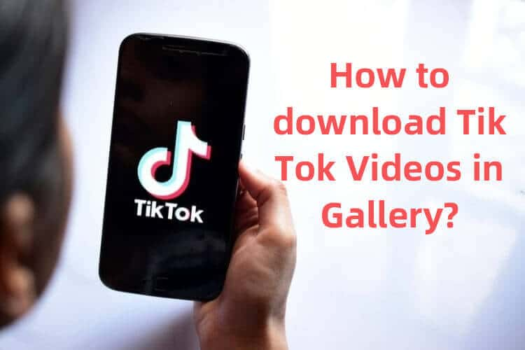 How to save tik toks