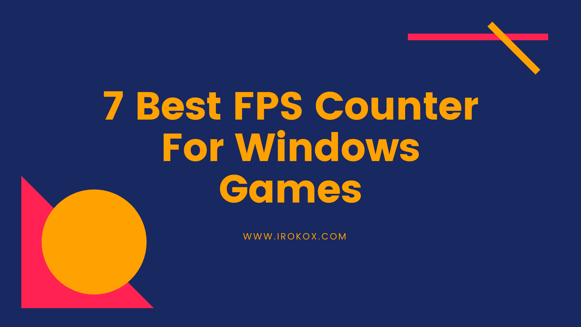 best FPS counter